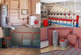 Отопление в частном доме: виды систем, схемы конструкций, монтаж и частые ошибки