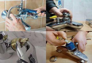 Как разобрать и отремонтировать смеситель своими руками