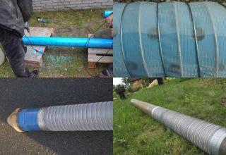 Как сделать фильтр для скважины: щелевая, дырчатая, сетчатая и проволочная конструкции
