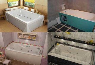 Выбор и монтаж каркаса для ванны