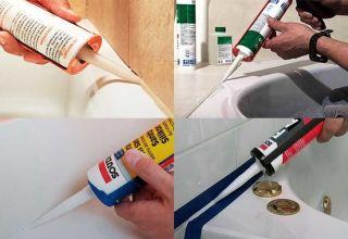 Время высыхания силиконового герметика в ванной