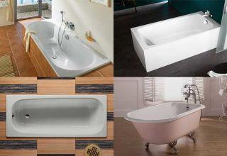 Стальная ванна: особенности и выбор по техническим характеристикам и производителю