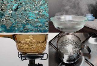 Температура кипения соленой воды