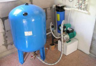 Гидроаккумулятор для водоснабжения: особенности устройства, выбор объема, рабочее давление, способы монтажа