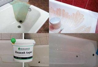 Простые способы реставрации ванны своими руками