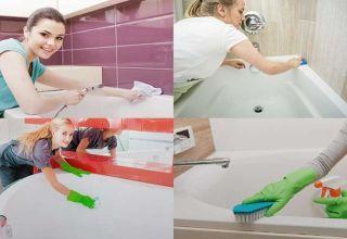 Средства для отмывания ванны от желтого налета
