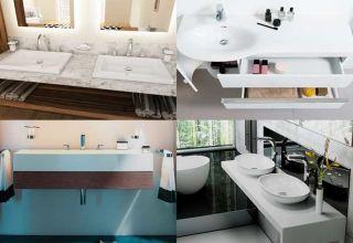 Определение высоты раковины в ванной