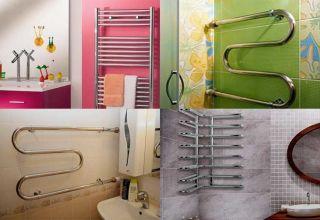 Замена и перенос полотенцесушителя в ванной