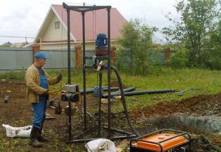 Скважина на воду своими руками: технологии, нюансы и способы бурения на даче