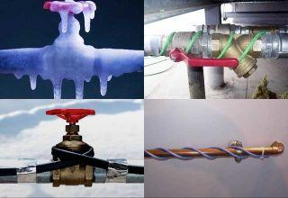 Греющий кабель для водопровода — эффективная защита труб от промерзания