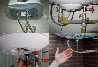 Советы по сливу воды из водонагревателя