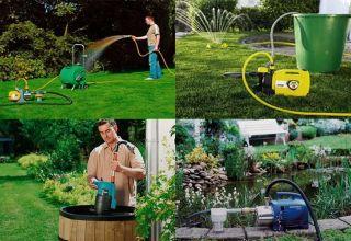 Какой насос выбрать для полива садового участка
