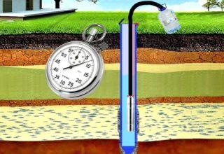 Как определить дебит воды в скважине: необходимость расчета, определение основных показателей по формуле