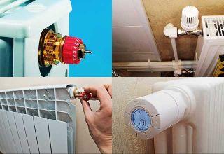 Как правильно регулировать температуру батареи отопления, вручную или автоматически