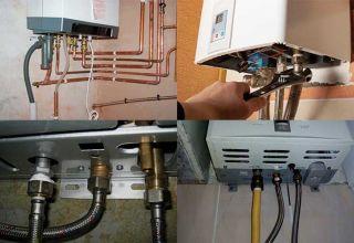 Правила монтажа газовой колонки