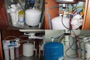 Установка фильтров для воды разного типа