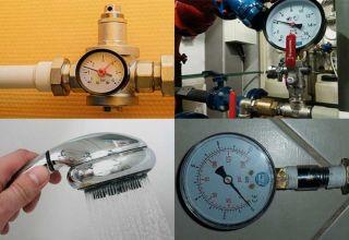 Нормативы давления воды в водопроводе