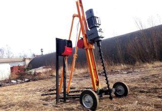 Малогабаритная буровая установка для скважин на воду: разновидности, преимущества, самодельные конструкции