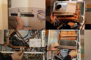 Способы чистки газовой колонки
