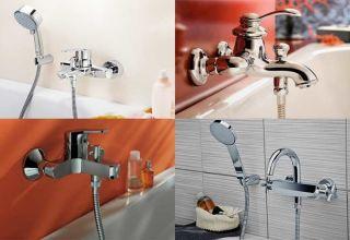 Все этапы установки смесителя в ванной