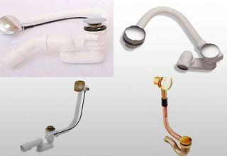 Рекомендации по выбору и установке слива-перелива для ванны