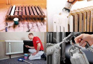 Краска для радиаторов: какую лучше выбрать, как снять старую и можно ли красить горячие батареи