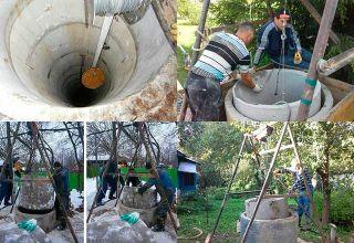 Углубление колодца: причины недостатка воды, технология проведения работ