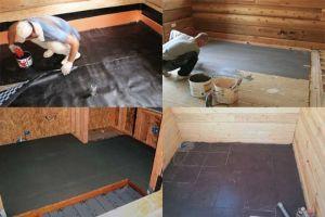 Как правильно выполнить гидроизоляцию ванной в деревянном доме
