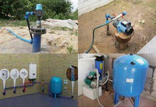 Водоснабжение частного дома из скважины: особенности, нюансы подключения и схемы подвода воды